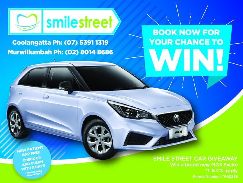 Smile Street Car Giveaway